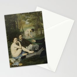 Luncheon on the Grass, Edouard Manet Stationery Cards