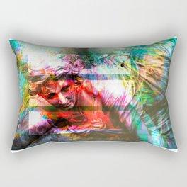 Gabriel in Crisis Rectangular Pillow