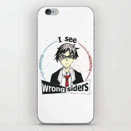 I See Wrong-Siders iPhone Skin