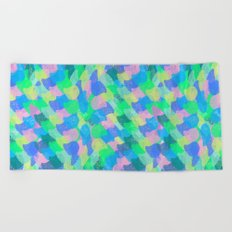 Colorful Scales Beach Towel
