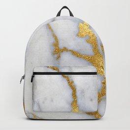 Italian gold marble II Backpack