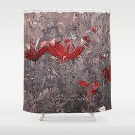 Wild Flowerbed 2 Shower Curtain
