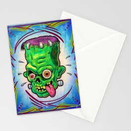 FrankenHead Stationery Cards
