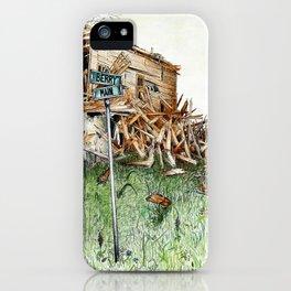 broken barn iPhone Case