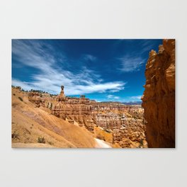 Canyon Landscape Photo Canvas Print