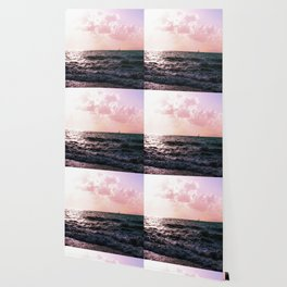 Pink sunset Wallpaper