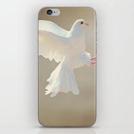 Dove Landing iPhone Skin