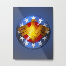 Wonder Shield Metal Print