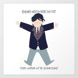 I'm Not Okay Gerard Way Art Print
