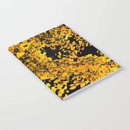 Ginko Leaves In California Notebook