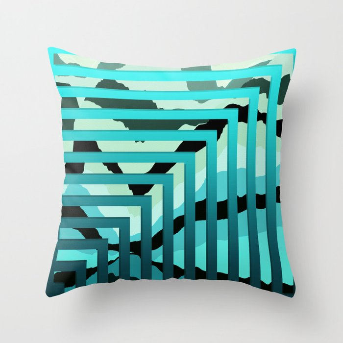TOPOGRAPHY 2017-007 Throw Pillow