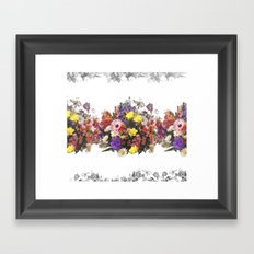 spring flowers Framed Art Print