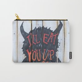 Eat You Up Carry-All Pouch
