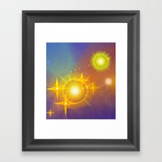Pleiades Framed Art Print