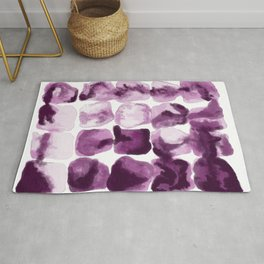 Abstract Printable Art, Purple Pink Watercolor Decor, Digital Print Download, Modern Farmhouse Poster, Living Room Wall, Trendy Home Bedroom Rug