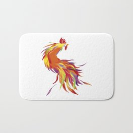 Red Rooster Bath Mat