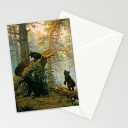 """Ivan Shishkin """"Morning in a Pine Forest"""" Stationery Cards"""