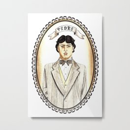 Pedro from Like Water for Chocolate Metal Print