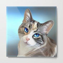 Calypso, the blue eyed Metal Print