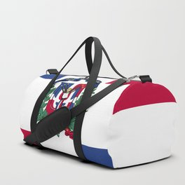 Dominican Republic flag emblem Duffle Bag