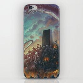 Lovecraft Monolith - By Lunart iPhone Skin