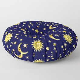 Sun, Moon & Stars Floor Pillow