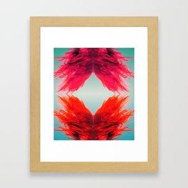 she was where? Framed Art Print