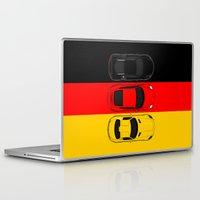 german Laptop & iPad Skins featuring German Horsepower by Blayde