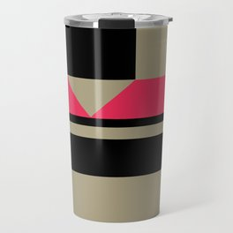 Black and Tan and Red #Society6 #buyart #blackandtan Travel Mug