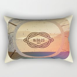Desert 16:50:23 2017 Rectangular Pillow