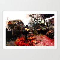 Inflamed Art Print