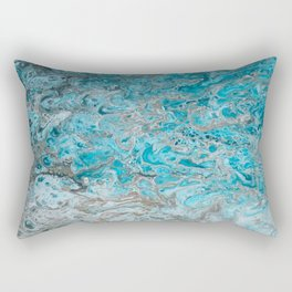 Beach Shallows 2 Rectangular Pillow