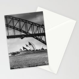 Bridge's, Bird's and Opera Houses Stationery Cards