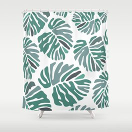 PHILODENDRON Shower Curtain