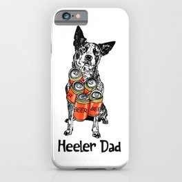 Heller Dad Beer Lover Father's Day iPhone Case
