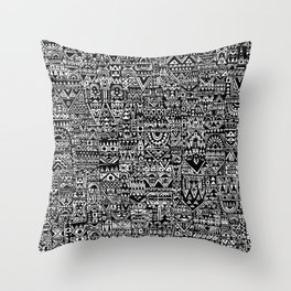 Polis Throw Pillow