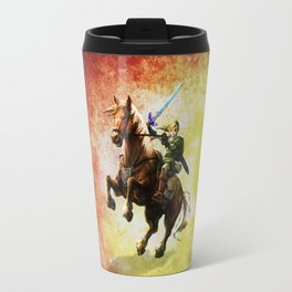 Legend Of Zelda Link Adventure Travel Mug