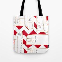 Seaside Stripes Slopers Tote Bag