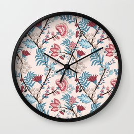Floral pattern 8700 Wall Clock