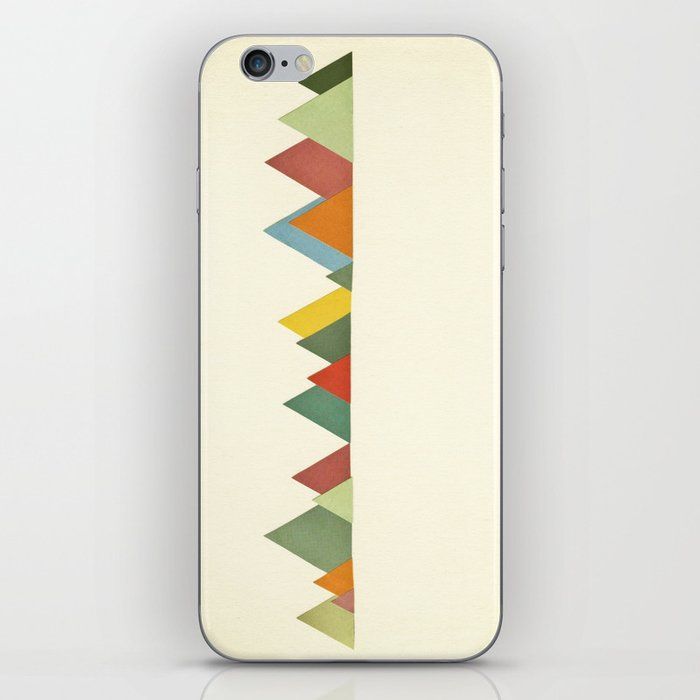 Mountain range iPhone Skin