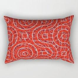 background carpet Rectangular Pillow