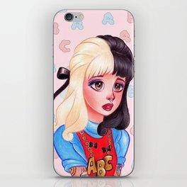 Alphabet Girl iPhone Skin