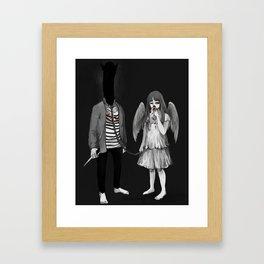 Punpun x Money Store Framed Art Print