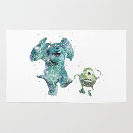 Mike and Sully Monsters Inc. Disneys Rug