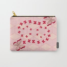 Red cut out butterfly Carry-All Pouch
