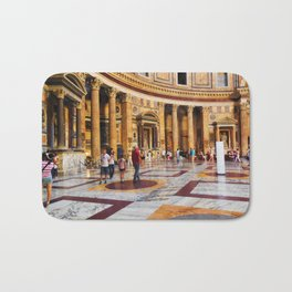 The Pantheon, Rome, Italy Bath Mat
