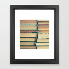 Book Pages  Framed Art Print