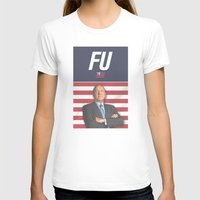 house of cards T-shirts featuring House of Cards / Campaign Poster I by Earl of Grey