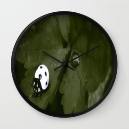 The White Lady Wall Clock