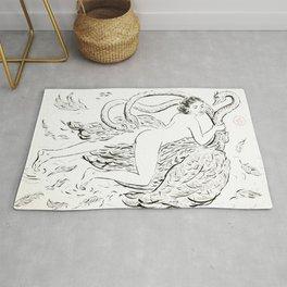 Leda & the Swan Rug